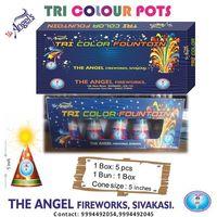 Tri Colour Fountain - 5pcs