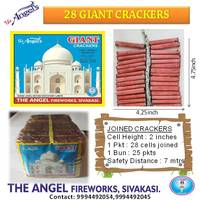 28 Giant Crackers