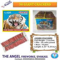56 Giant Crackers
