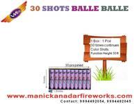 30 Shot Balle Balle Multicolor