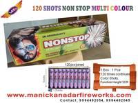 120 Shot Non - Stop Multi Colour