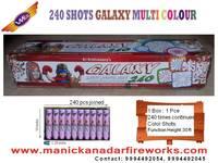 240 Shot Galaxy Multi Colour