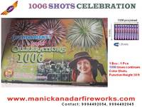 1006 Shots - Multi Color Festival Display Shots