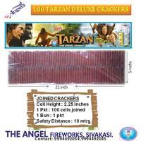 2½'' * 100 Tarzan Deluxe Crackers