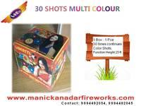 30 Shot Multicolor