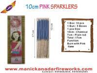 10cm Pink Sparklers