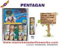Pentagan 5 (5pcs) - 5 Colour Outs