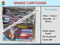 Snake Cartons 25's