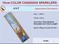 15cm Colour Changing Sparklers