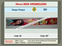 30cm Red Sparklers