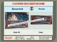 3 Sound Rocket 10's
