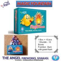 Magic Fountain  [10 pcs] - Green Flash