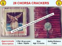 28 CHORSA CRACKERS