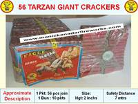 56 TARZAN GIANT CRACKERS