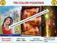 Tri Colour Pots Dx (5pcs) - 3 Colour Fountain
