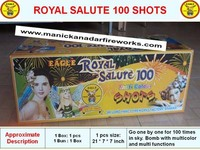 Royal Salute 100 Shots